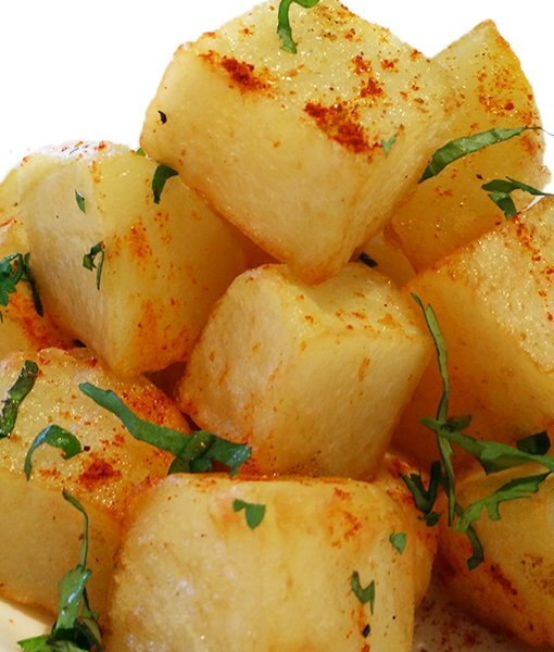 Dum Aloo Chaat Pata Bombay Potatoes Indian Takeaway Newcastle Gateshead