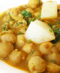 Pindi Chana Chickpeas Indian Takeaway Newcastle Gateshead