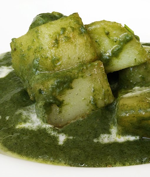 potatoes and recipe saag aloo potatoes with spiced spinach vegan